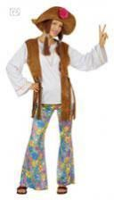Hippie Women Costume. L