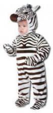 Fröhliches Zebra Kinderkostüm Medium