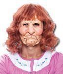 Großmutter Olga Maske