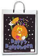 Trick or Treat Bag Pumpkin Design