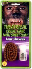 Theater hair light brown