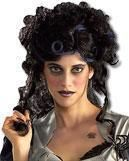 Spider Witch Wig black
