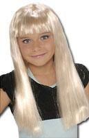 Popstar Kinderperücke Blond