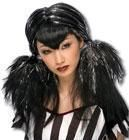 Dark Angel Wig black / silver