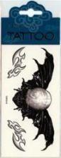 Flügel Tattoo Winged Skull