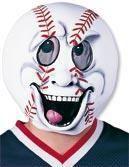 Baseball fan carnival mask