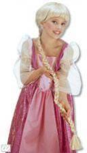Blonde Rapunzel Kinderperücke