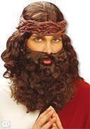Herrenperücke Jesus mit Bart