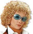 Curly Wig Uschi Blond