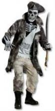 Pirate Captain Skeleton Costume
