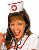 Sexy nurse hood
