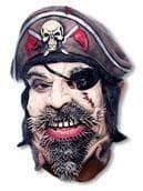 Piraten Halbmaske