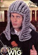 Graue Richter Perücke