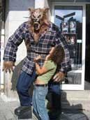 Riesen Werwolf Aufstellfigur