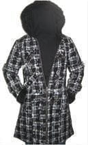 Celina coat with plush hood Gr.M