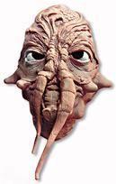 Alien Maske Monstrum hautfarben