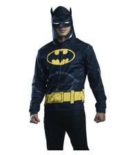 Batman Stoffjack mit Kapuze