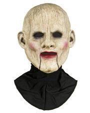 Bauchredner Puppe Halbmaske aus Silikon