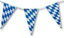Bayerische Rauten Wimpelkette