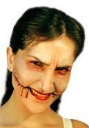 Joker Smile latex wound