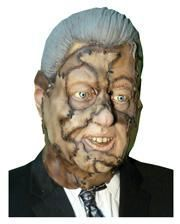 Bill Clinton Leatherface mask