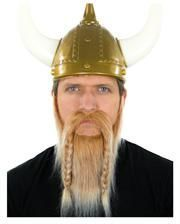 Viking beard blond-white heather
