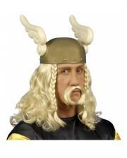 Blonde Gauls wig with beard