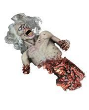 Blutiger Zombie Dekofigur