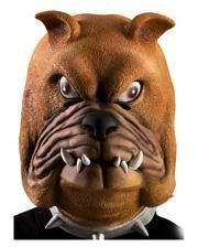 Bulldog latex mask