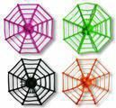 Bunte Spinnennetze 12 Stück