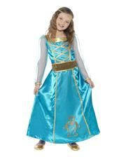 Burgfräulein Kostüm für Kinder