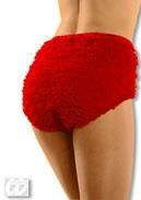 Burlesque Panties Red L