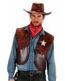 Cowboy vest brown XL