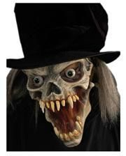 Demon mask with hat