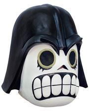 Dark Lord Comic Maske weiß