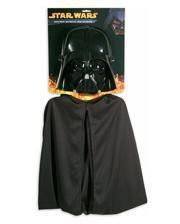 Darth Vader mask with cape