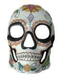 Day of the Dead Totenkopf Maske Flower