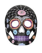 Day of the Dead Mask Floral with rhinestones
