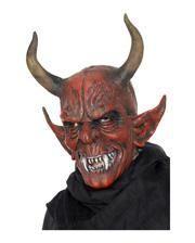 Gehörnter Dämon Maske