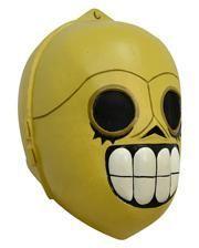 Comic Maske SciFi Droide