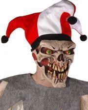 Evil Joker Premium Maske