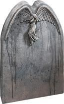 Falling angel grave stone