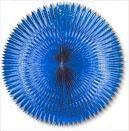 Foil Fan Blue 120 cm