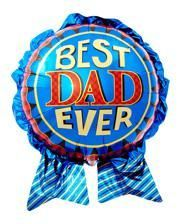 Foil balloon Best Dad Ever