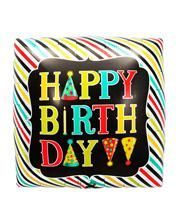 Foil balloon Happy Birthday Dice