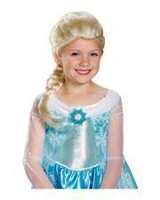 Blonde Frozen Elsa Kinderperücke