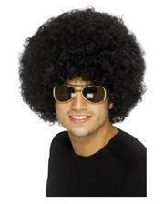 Funky Afro Wig Black