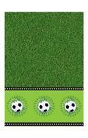 Football tablecloth