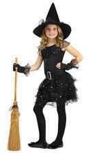 Glitter Witch Child Costume