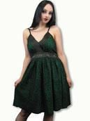 Leopard Dress green